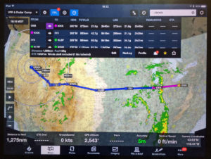 ForeFlight app on iPad